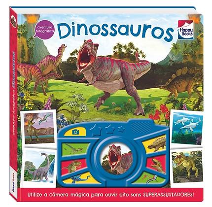 Livro Aventura fotográfica! Dinossauros