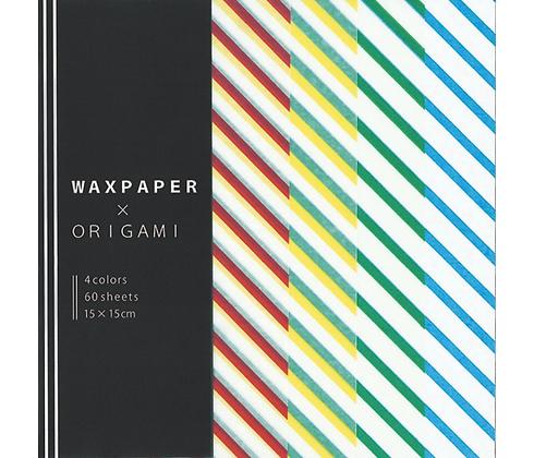 Papel P/ Origami 15x15cm Wax