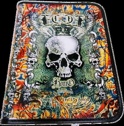 Porta caderno univ com zipper