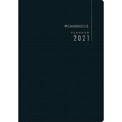 Planner Executivo Grampeado 17,8 x 25,4 cm Cambridge 90 Gramas 2021