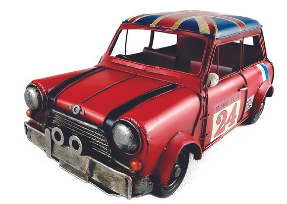 Carro Reino Unido Decorativo Metal  32x14cm La Verne
