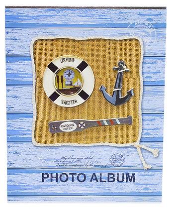 Álbum Marinheiro Azul 200 Fotos 10X15cm