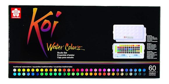 Aquarela Koi Water Colors Sakura 60 cores