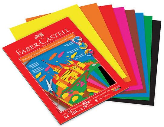 Papel criativo max colorset 32fls 80g/m² A4