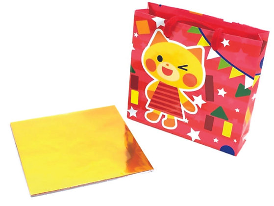 Papel p/ Origami 15x15cm c/ Sacola (45fls) - ORIB-04