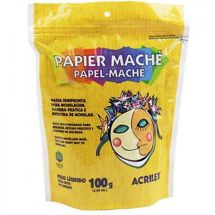 Papel Machê 100gr Acrilex