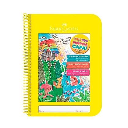 Caderno Criativo Faber-Castell 96 folhas