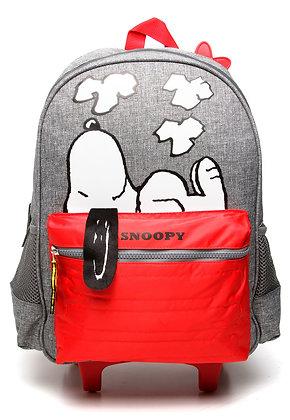 Mochila de Rodinhas Luxcel Snoopy