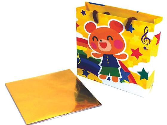 Papel p/ Origami 15x15cm c/ Sacola (45fls) - ORIB-03