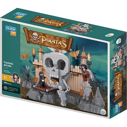 Blocos De Montar Castelo Do Pirata Cis 294pcs