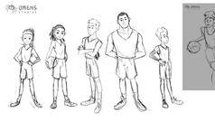 Main Characters Explorations