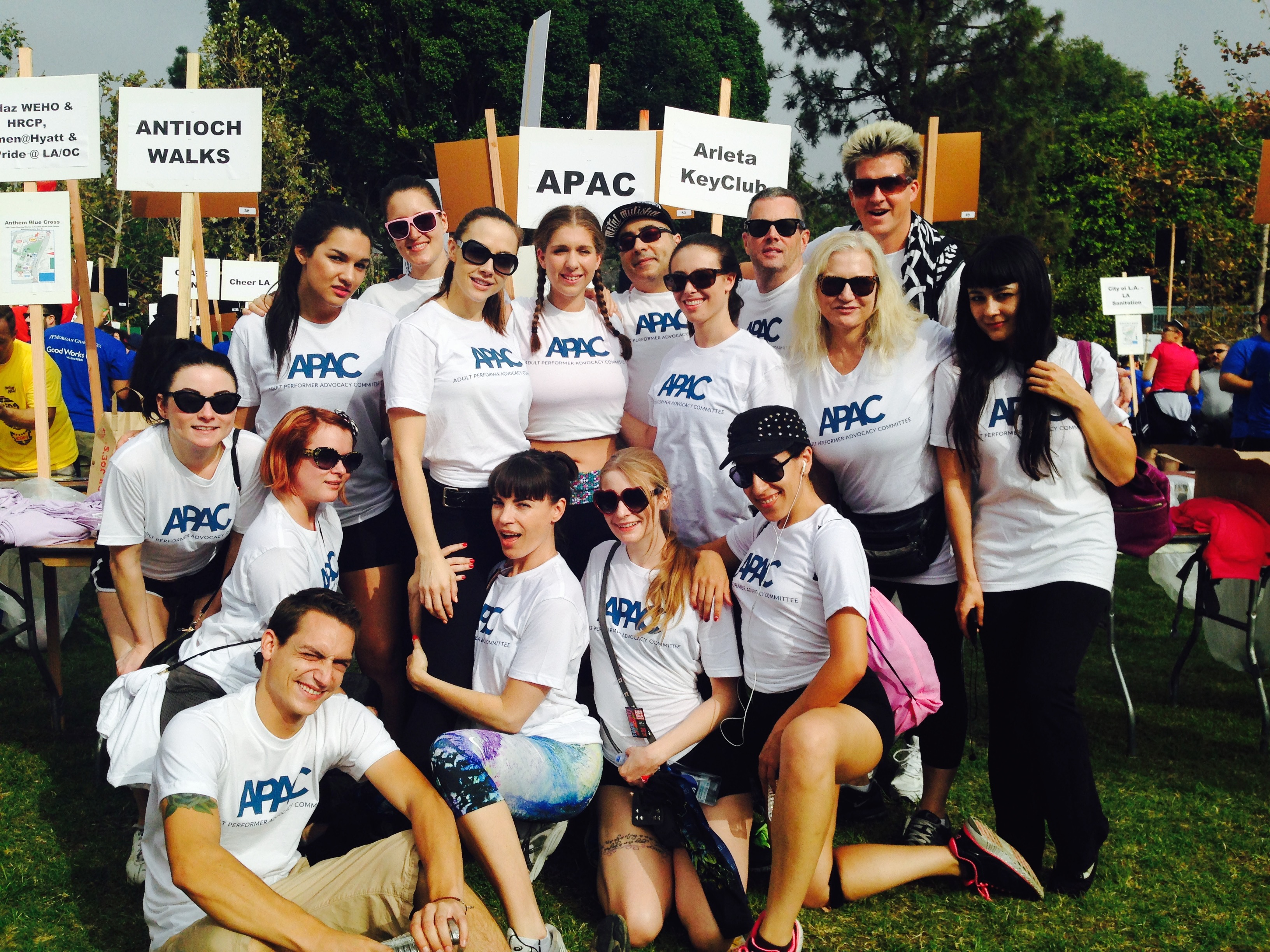 APAC at AIDS Walk Los Angeles