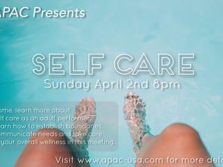 APAC Gives Guidance on Self-Care