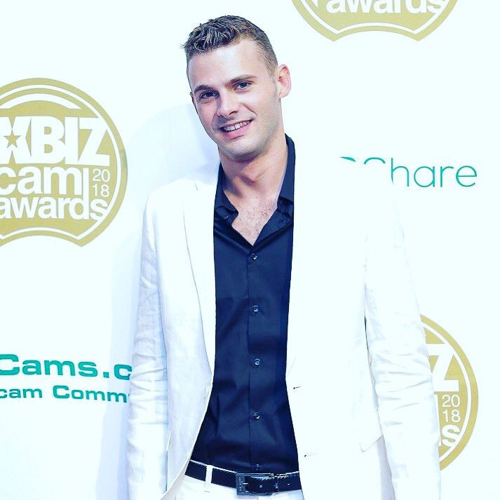 Dave Slick at the 2018 Xbiz Cam Awards