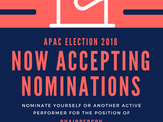 APAC Nominations Now Open!