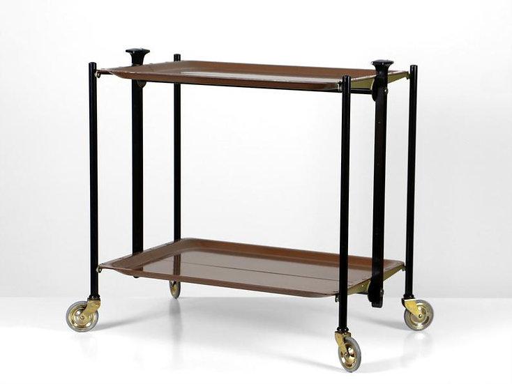 Mid Century Serving / Bar Cart