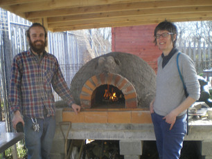 Firing Up The Pizza Oven!
