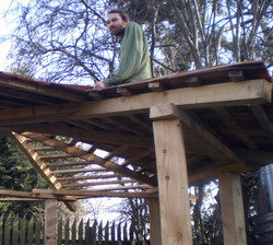 Roofing at the yard