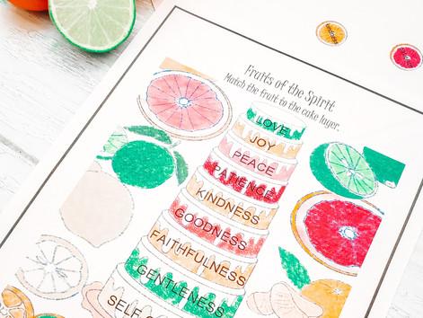 Fruits of the Spirit Citrus Baking Bundle