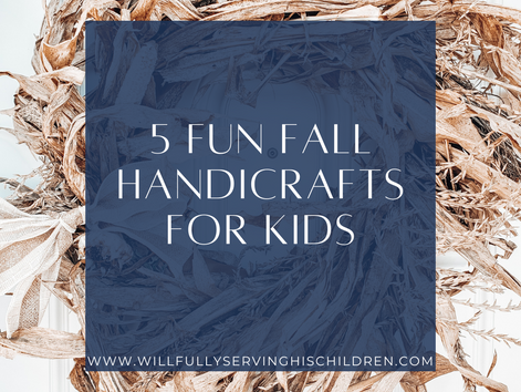 5 Fun Fall Crafts for Kids