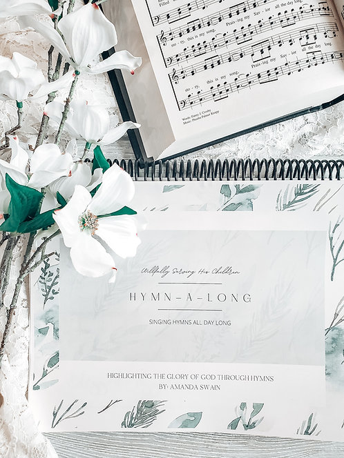 Hymn-A-Long / Full Hymn Homeschool Curriculum / Faith-Based / Hymn Study