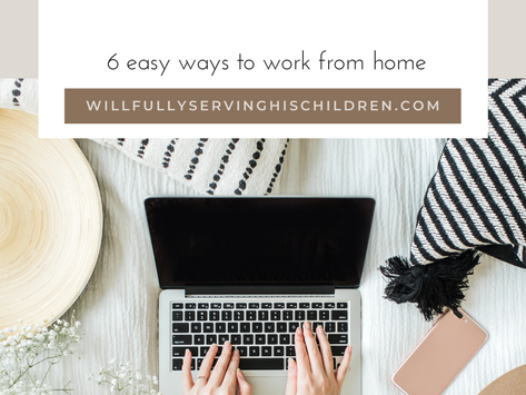 6 Tips to Work From Home With Kids