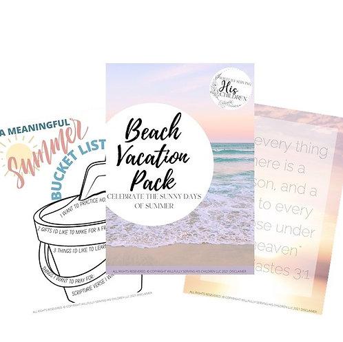 Summer Activities for Kids / A Meaningful Summer Bucket List