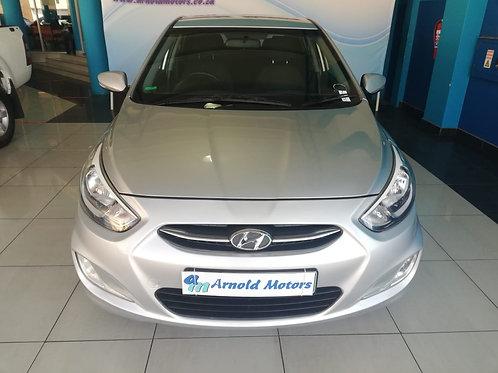 Hyundai Accent 1.6 Fluid 5dr 2015