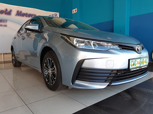 2020 Toyota Corolla Quest 1.8