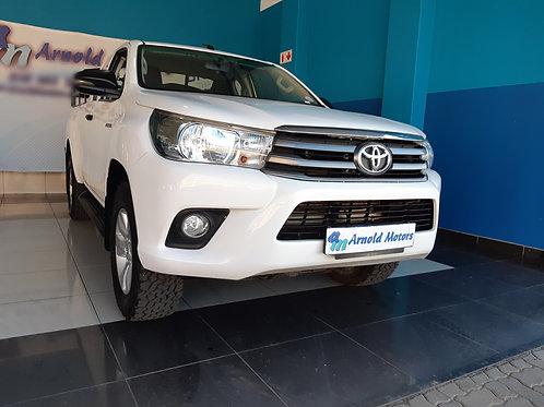 2018 Toyota Hilux 2.4 GD-6 R/B SRX P/U Ext/C