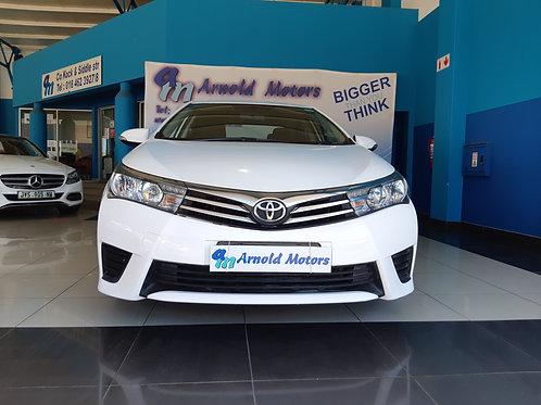 2016 Toyota Corolla 1.4D Esteem