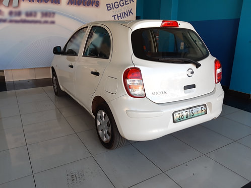 2014 Nissan Micra 1.2 Visia + 5dr (D82)