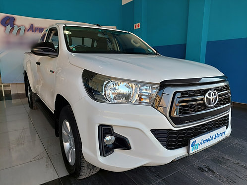 2019 Toyota Hilux 2.4 GD-6 RB SRX P/U E/Cab
