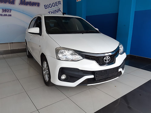 2018 Toyota Etios 1.5 XS/Sprint