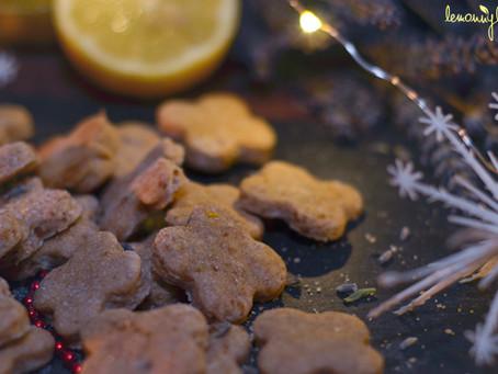 Citrónovo-levandulové sušenky