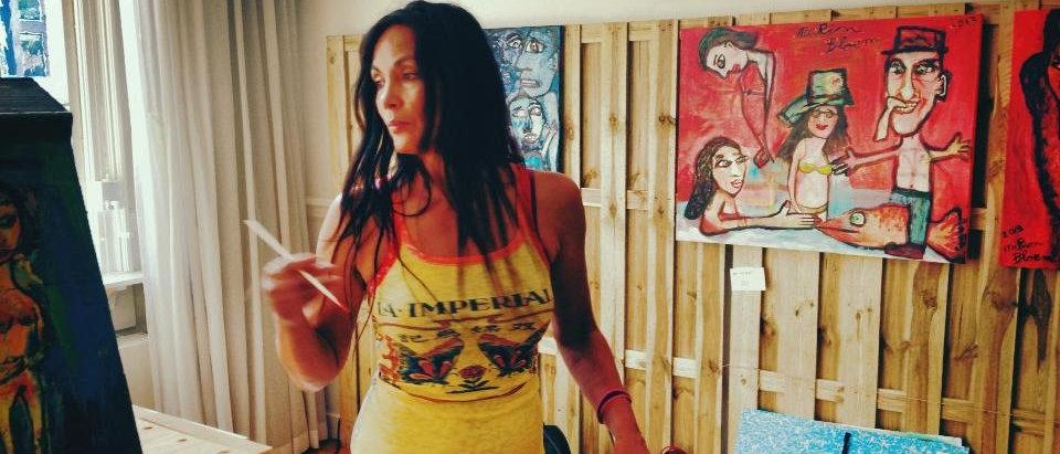 Marion Bloem schildert