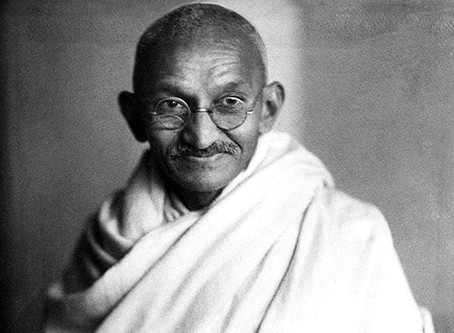 Gandhi et l'anglais