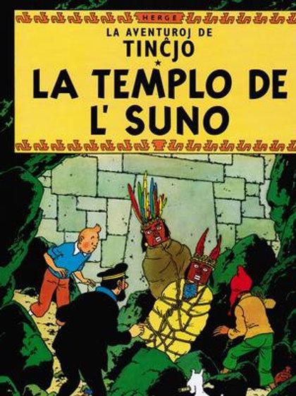 Tincjo kaj la Templo de l' Suno - Tintin et le Temple du Soleil