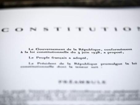 Une constitution pour l'Union?