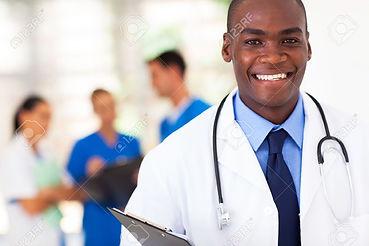 17781867-handsome-african-american-medic