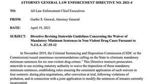 PROGRESS! Mandatory minimum sentencing for non-violent drug offenses ended through AG Directive