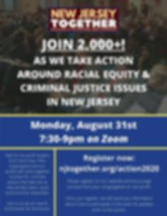 NJTogether Public Action Flyer 2020-8-31