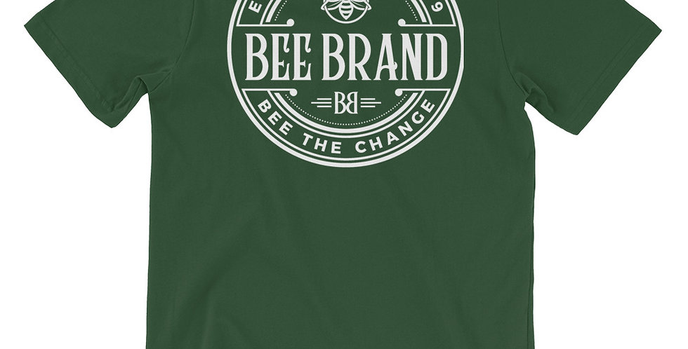 White Logo Classic Bee Brand T-Shirt