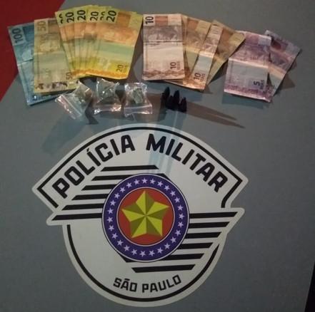 SANTA BRANCA: Polícia Militar prende mais um traficante na cidade