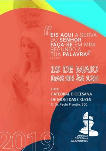 Jornada Diocesana de Juventude (JDJ) é neste domingo, dia 19