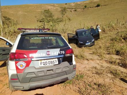 SANTA BRANCA: Polícia Militar prende autor de roubo de veículo