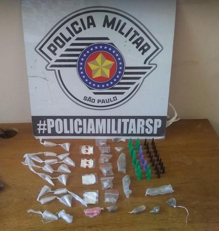 BIRITIBA MIRIM: Polícia Militar prende adolescente por tráfico de drogas na Vista Alegre