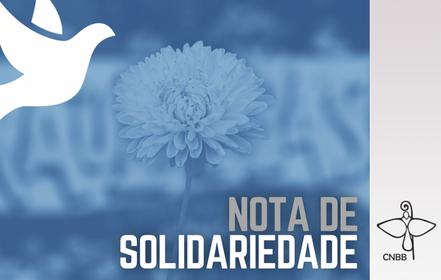 Nota de solidariedade da CNBB à Diocese de Mogi das Cruzes