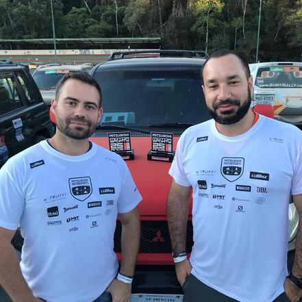 ESPORTE: Bruno Cruz fica em terceiro no Rally Mitsubishi