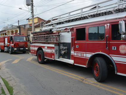 Princípio de incêndio mobiliza Bombeiros na Estância